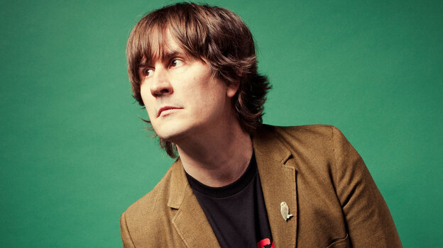 """[Death metal] is a very passionate music. It's also really dark and gory--and I like that stuff."" - John Darnielle, of the Mountain Goats. (DL Andersoni)"