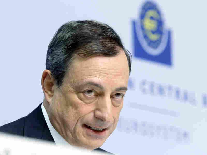 European Central Bank President Mario Draghi today unveiled in Frankfurt, Germany, a massive bond-buying stimulus program to kick-start the region's economy.