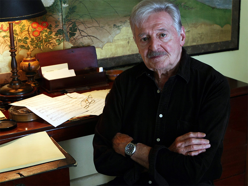 On Australia Day, we salute composer Peter Sculthorpe.