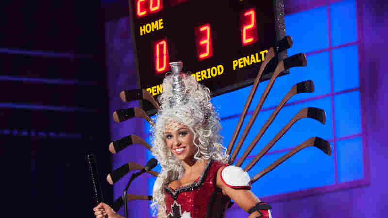 Chanel Beckenlehner, Miss Canada 2014. This is the one that's been getting all the press. Drink it in, people. The scoreboard is attached.