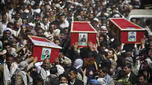 Yemeni Rebels Call For Mass Rallies After President Steps Down