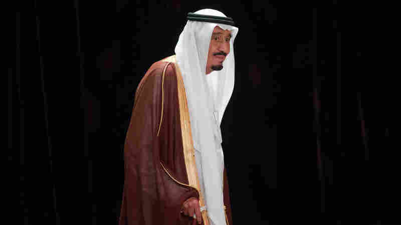 Saudi Arabia's King Salman, who assumed the throne on Friday, is shown at the G20 conference in Brisbane, Australia, on Nov. 15, 2014, when he was the crown prince. His succession went smoothly, but the new monarch faces a region in turmoil.