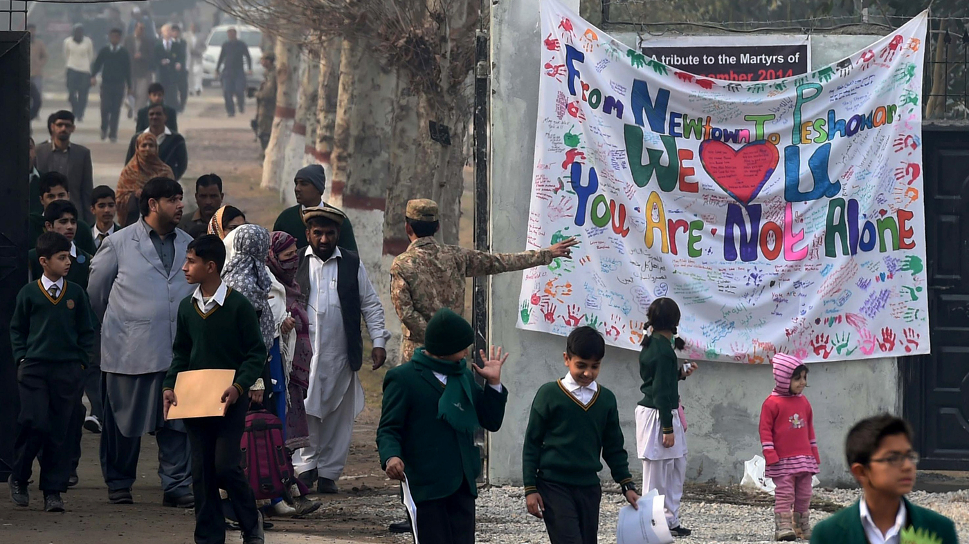 after the slaughter  a pakistani school seeks to heal   parallels   npr