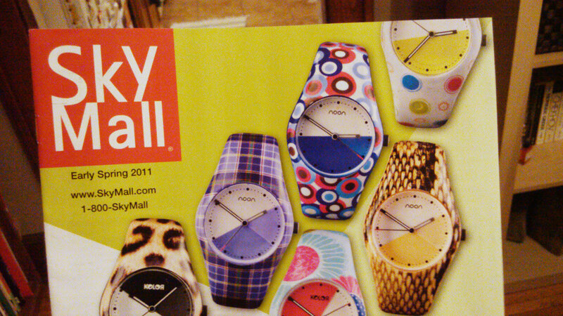 The company behind the ubiquitous SkyMall in-flight catalog is filing for bankruptcy.