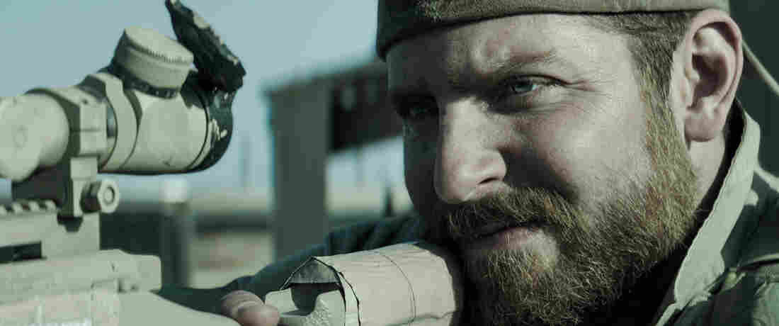 Bradley Cooper stars in American Sniper, based on the life of Navy SEAL Chris Kyle.