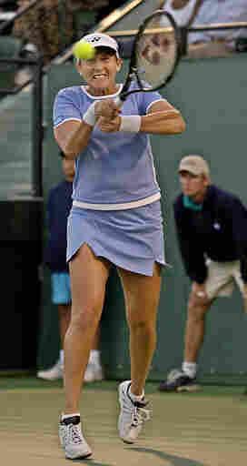 Tennis champion Monica Seles in 2002.
