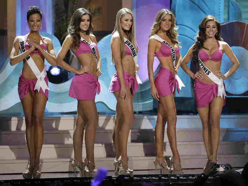 Critics suggested that most of this year's Miss Universe finalists conformed to a European standard of beauty, even though the contestants represented 88 countries from six continents.