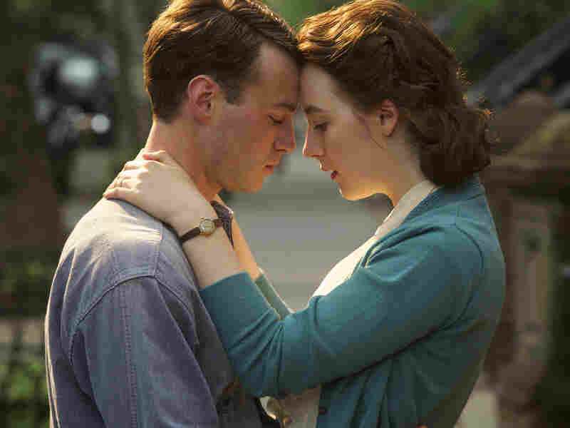 In Brooklyn, a young woman (Saoirse Ronan) finds herself torn between two countries and two men, played by Emory Cohen (pictured) and Domhnall Gleeson.