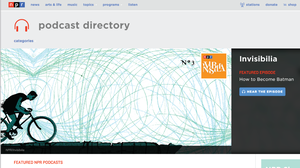 NPR's new podcast directory is mobile-friendly and far more engaging, for both your eyes and