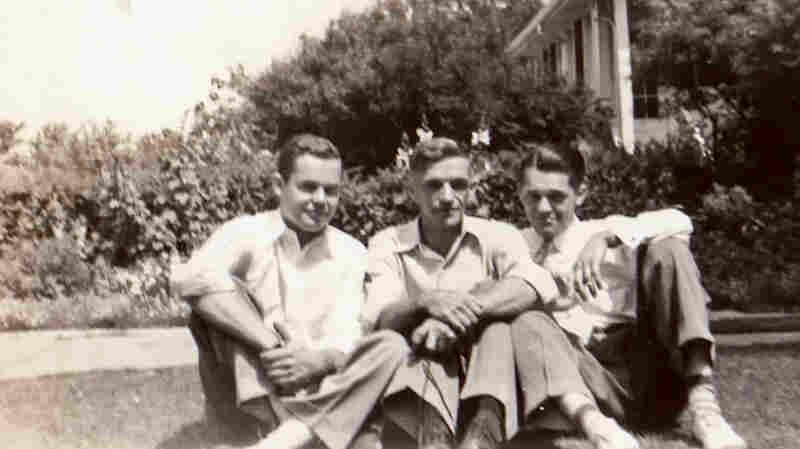 """Arthur H. """"Bud"""" Kelder (left) died in World War II."""