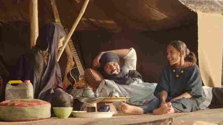 Toulou Kiki, Ibrahim Ahmed, Layla Walet Mohamed in Timbuktu.