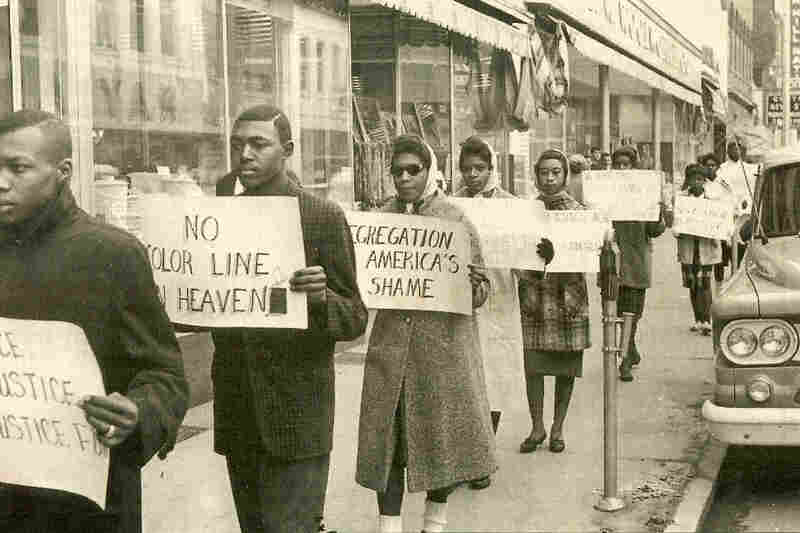 """""""We were able to shop in the store, purchase what we want,"""" recalls Clarence Graham, one of the Friendship Nine. """"But we couldn't sit down and order a drink, a Coke, a hot dog or anything because we were black."""""""