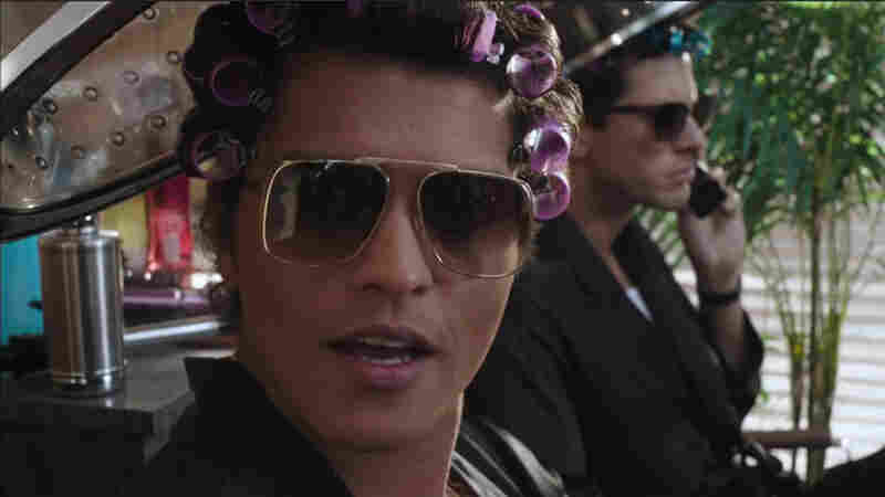 "Bruno Mars (left) and Mark Ronson, whose song, ""Uptown Funk!,"" has been the No. 1 song in the country for four weeks in a row."