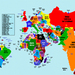 India Grows, Russia Shrinks: Mapping Countries By Population
