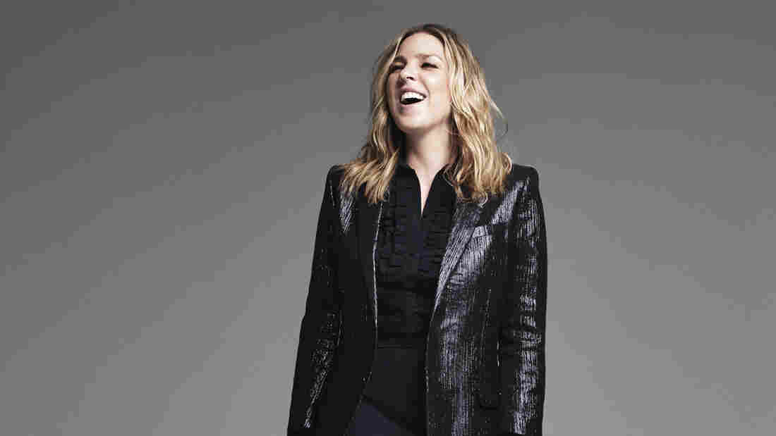 Diana Krall's latest album, a collection of jazz takes on rock and pop classics, is called Wallflower.