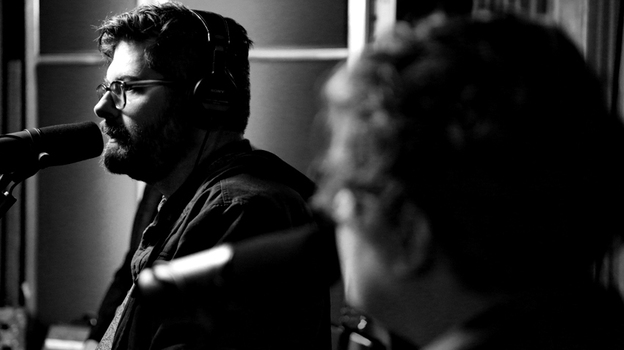 The Decemberists perform live on KCRW's Morning Becomes Eclectic. (KCRW)