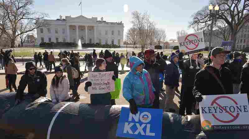 President Obama has said he will veto the Keystone XL pipeline project, which passed in the Senate on Wednesday. Historically, political scientists say 90 percent of veto threats are issued behind the scenes but Obama has issued nine veto threats so far — in public.