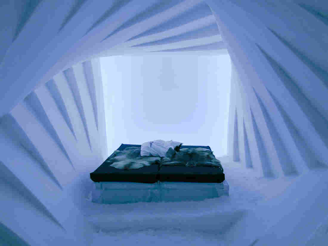 Ice hotels have sprung up around the world, but Sweden's Icehotel is the original — now celebrating its 25th anniversary. Each winter, the hotel is carved from scratch out of the frozen Torne River.