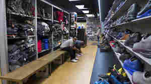 A Pillar Of Atlanta's Community Also Has An Outsize Shoe Collection