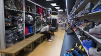 Walters Clothing carries styles that go back decades and shoes up to size 18. Its outsize selection has earned the attention of NBA stars and hip-hop artists.