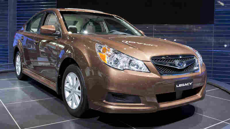 A 2011 Subaru Legacy is among the nine vehicles that were found to have a driver fatality rate of zero in a new report by the Insurance Institute for Highway Safety.