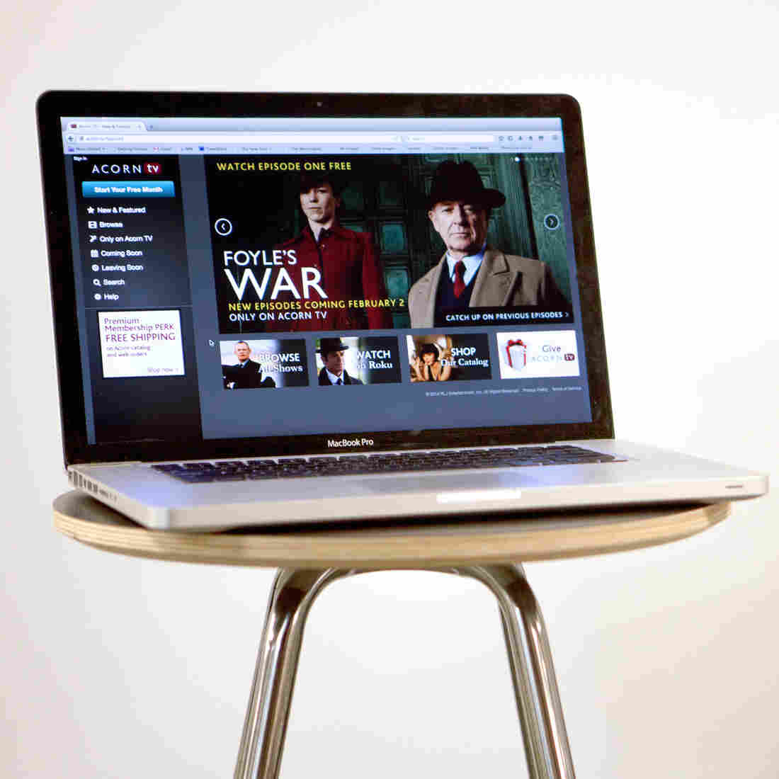 American viewers hoping to catch the last season of the hit British show Foyle's War will have to sign up for the boutique digital portal Acorn.tv.