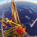Balloonists Crossing Pacific Set Distance Record