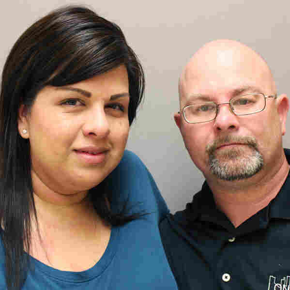 Soldier With PTSD, Woman Who Lost Husband To It, Find Solace Together