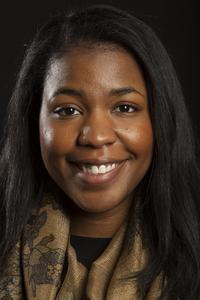 Taylor Davis, a nursing major at Howard University.
