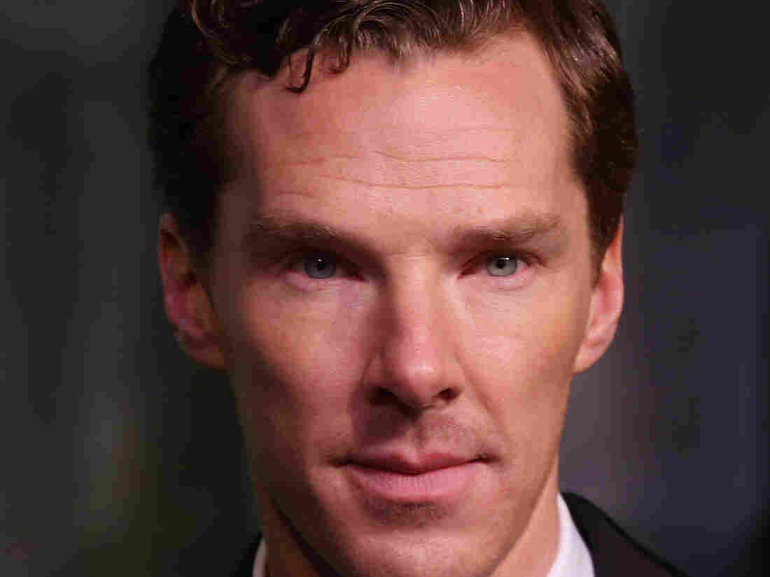 Actor Benedict Cumberbatch poses for photographers in London in December.