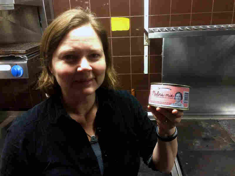 Swedish chef Malin Söderström has her own brand of surströmming called Malin's Mix.