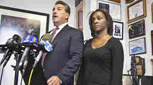 Attorney Scott Rynecki and Kimberly Ballinger, the domestic partner of Akai Gurley, filed a lawsuit seeking $50 million against the city, the NYPD and officers Peter Liang and Shaun Landau.