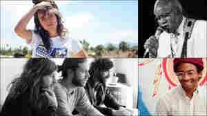 Clockwise from upper left: Courtney Barnett, Pops Staples, Toro Y Moi, Other Lives