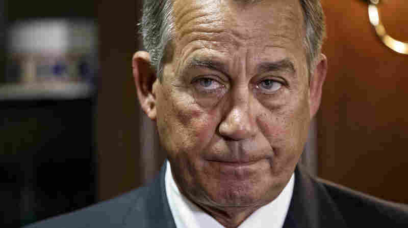 Speaker of the House John Boehner, R-Ohio, pauses at a news conference before announcing that the House planned to vote Tuesday to repeal the Patient Protection and Affordable Care Act, following a GOP strategy session at Republican National Committee headquarters on Capitol Hill in Washington. While the repeal passed 239-186, it's likely to fail in the Senate or be vetoed by the president.