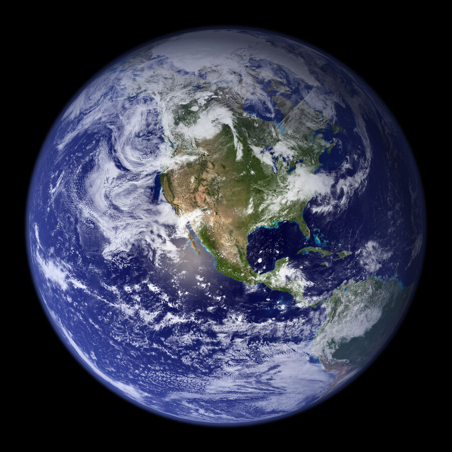 Satellite Set To Stream Daily Images Of Earth From Space NPR - Satellite picture of