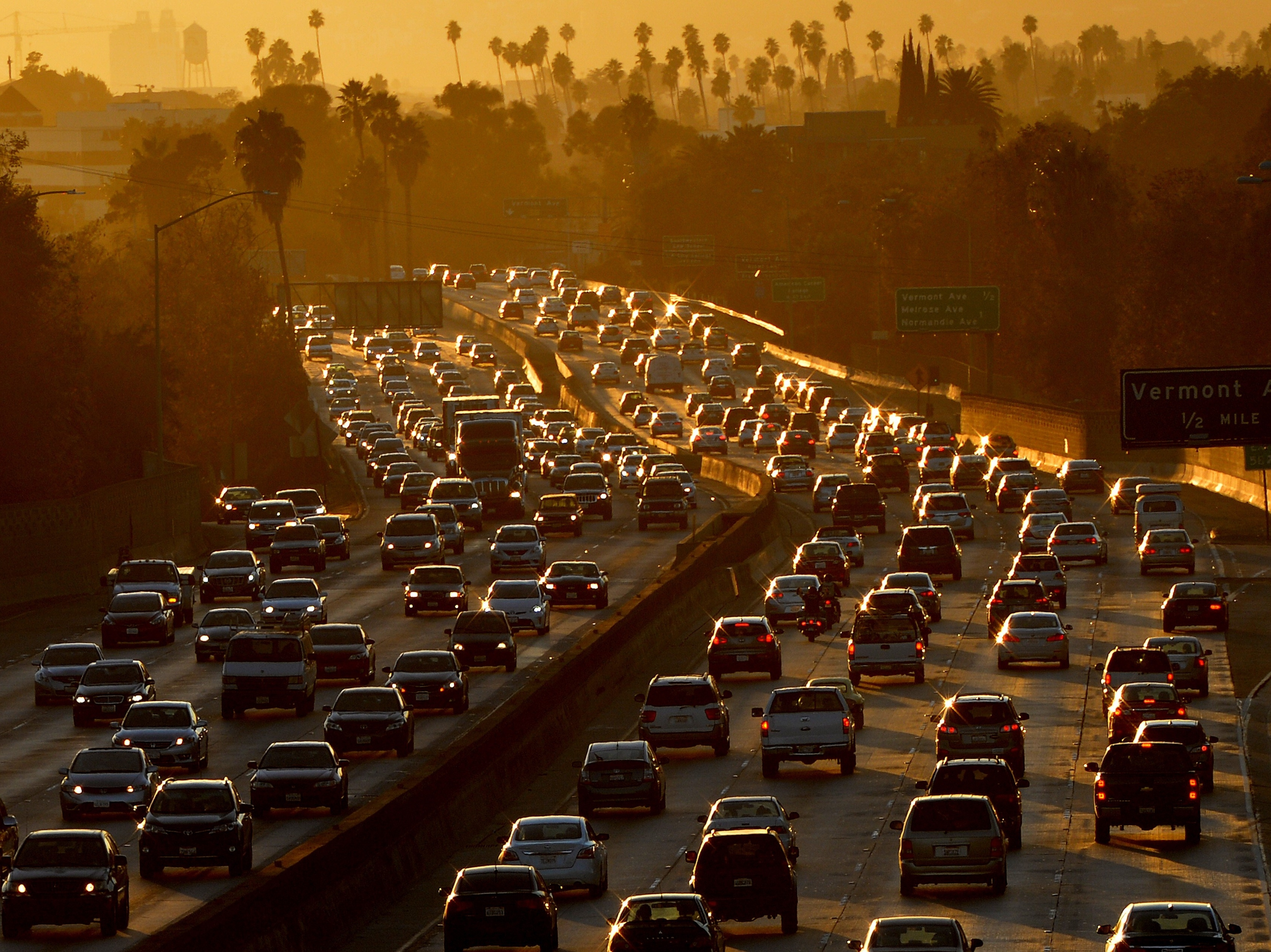 Stuck In Traffic? It's Likely To Be Worse In 30 Years, Report Says