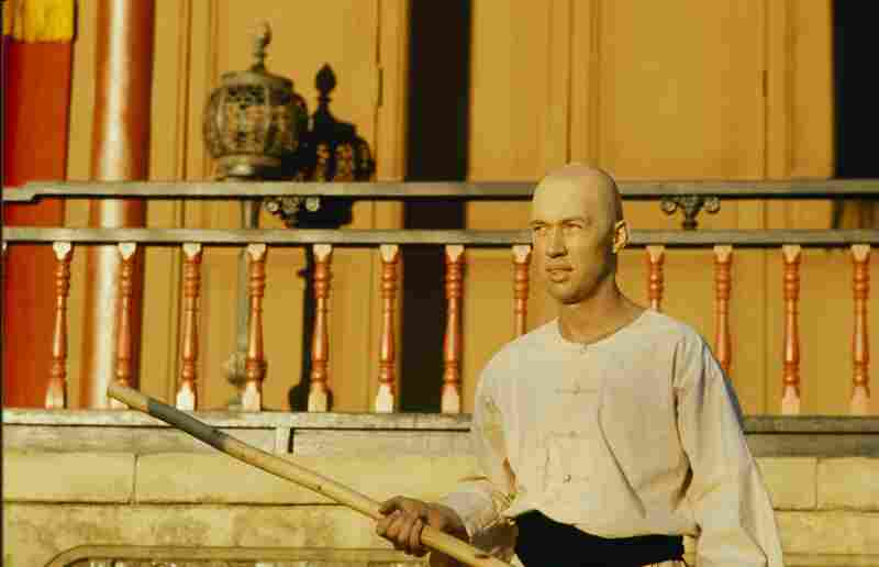 David Carradine played a Shaolin monk and martial arts expert in Kung Fu.