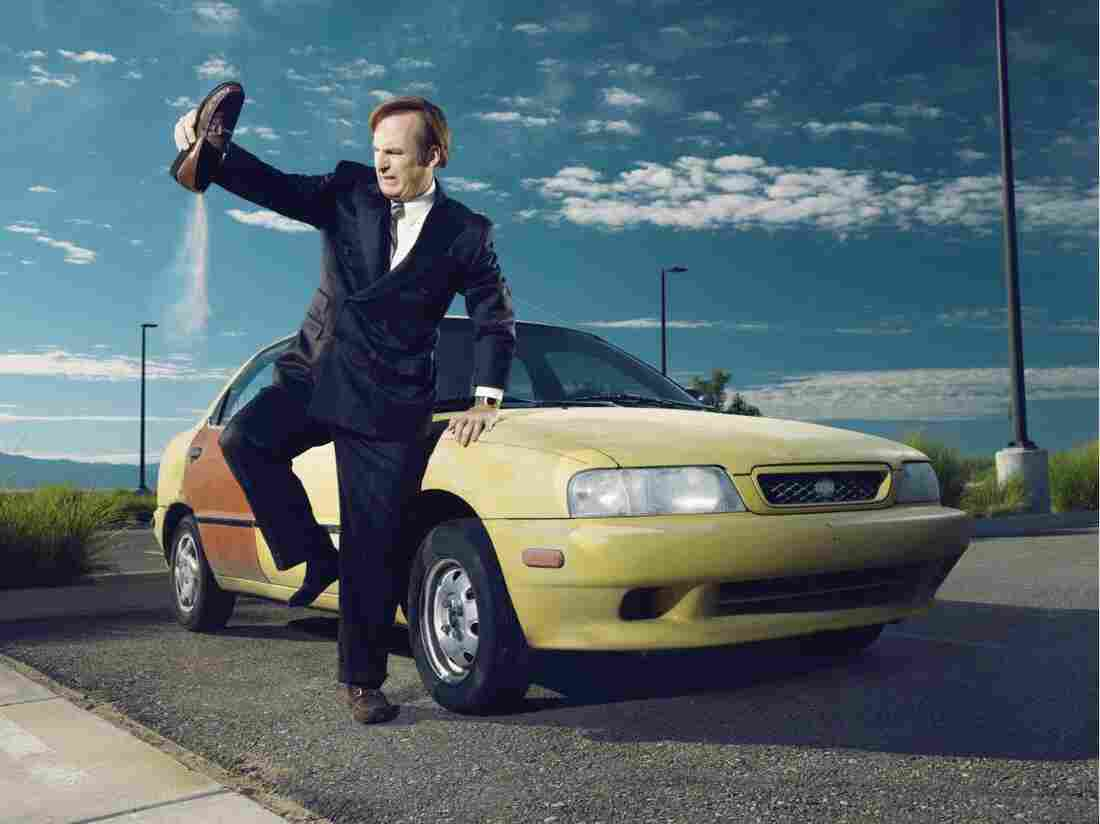 On Better Call Saul, Bob Odenkirk plays Jimmy McGill, a fast-talking, struggling public defender who decides to remake himself as Saul Goodman, a lawyer specializing in representing unabashed criminals.
