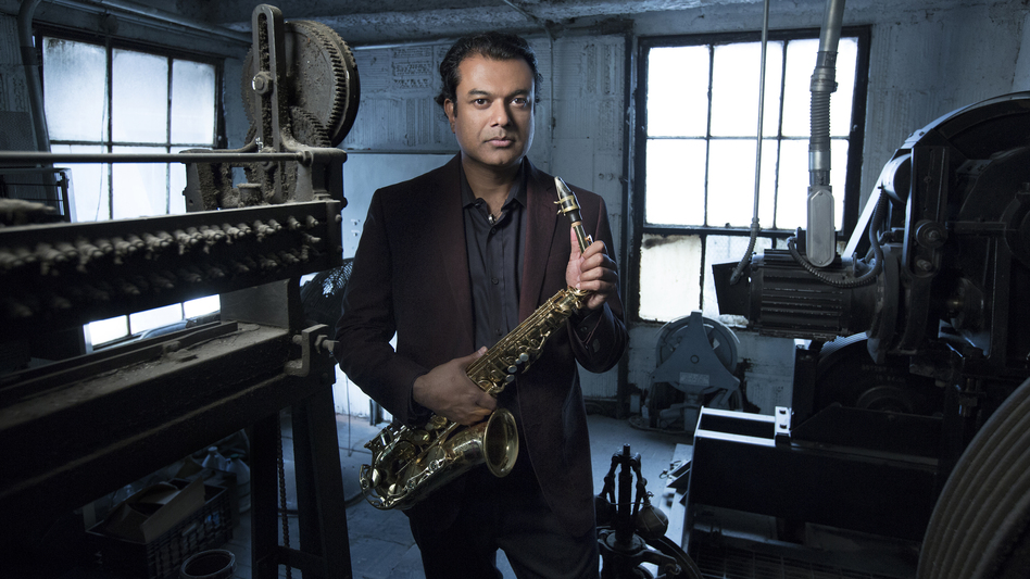 Rudresh Mahanthappa's latest album is Bird Calls. (Courtesy of the artist)