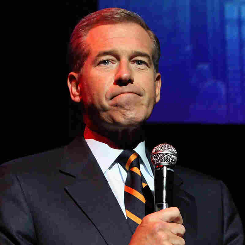 NBC Nightly News anchor Brian Williams admits that his story of being on a helicopter hit by enemy fire in Iraq in 2003 was untrue and has apologized to troops and viewers.