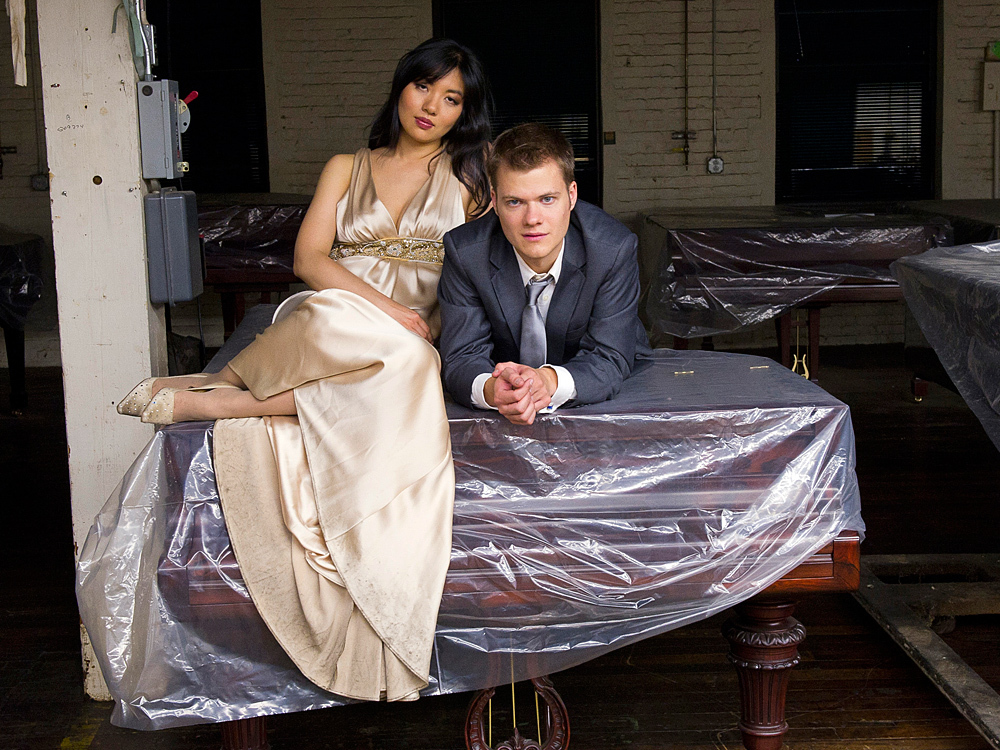 The new album by piano duo Anderson and Roe is devoted to J.S. Bach.