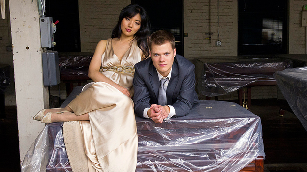 The new album by piano duo Anderson and Roe is devoted to J.S. Bach. (Ken Schles)