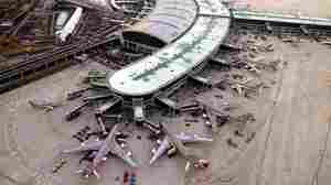 Incheon International Airport, about 32 miles west of Seoul, South Korea, is seen in an aerial view shortly after it opened in 2001.