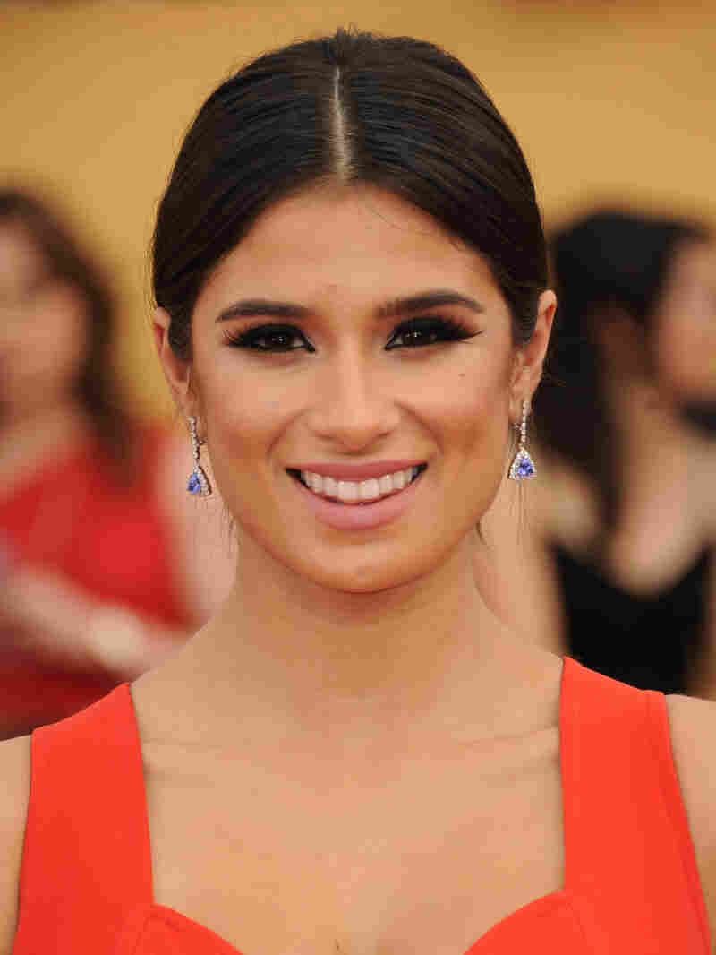 Diane Guerrero arrives at the 21st annual Screen Actors Guild Awards in January.
