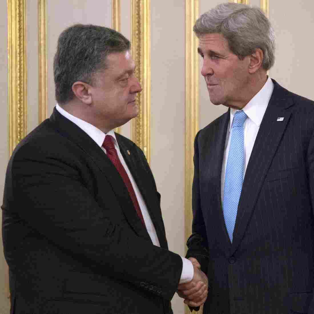 U.S. And NATO Seek New Ways To Help Secure Ukraine's Border