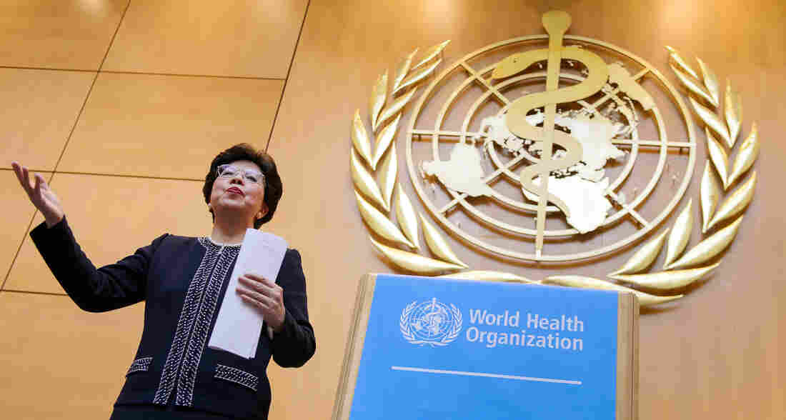 """Dr. Margaret Chan, director-general of the World Health Organization, has said of Ebola: """"It overwhelmed the capacity of WHO, and it is a crisis that cannot be solved by a single agency or single country."""""""