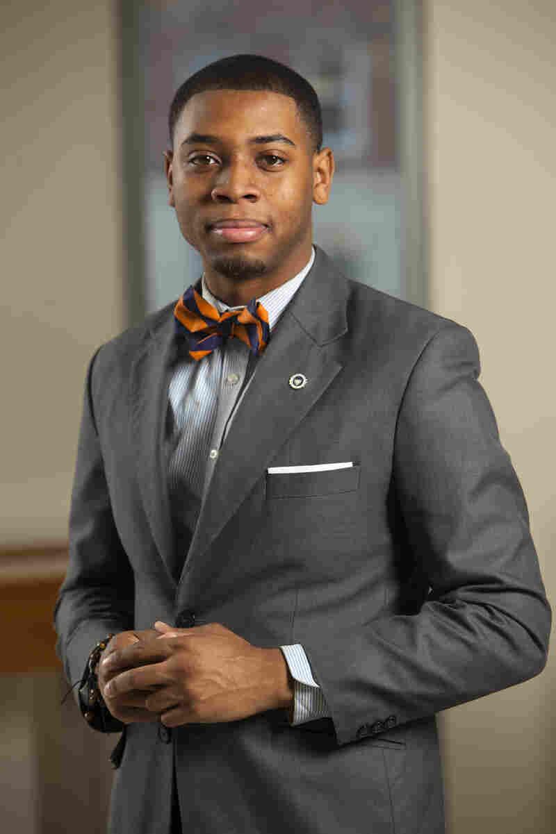 Kevin Peterman, senior, at Howard University.