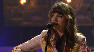 Hurray For The Riff Raff performs live at the 2014 Americana Music Awards.