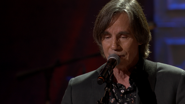 Jackson Browne Performing At The 2014 Americana Music Awards. (High Five Entertainment)