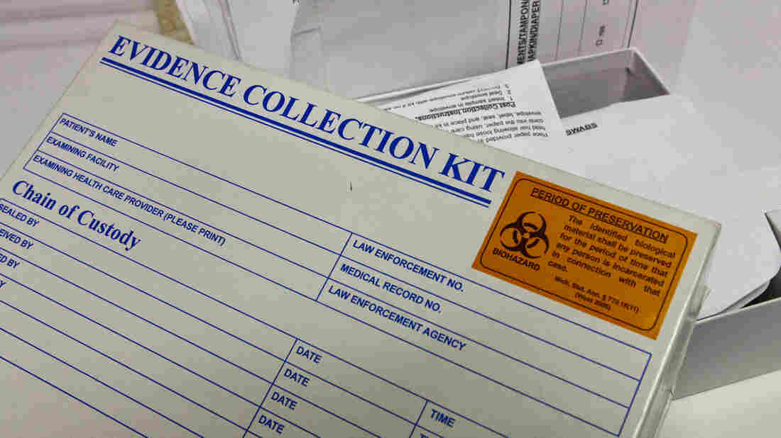 Six years ago, 11,000 untested rape kits were found in an abandoned police storage unit in Detroit. The city is struggling to find funding to eliminate the backlog.